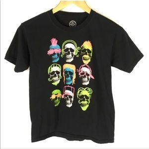 Graphic T Shirt Skulls XL 14/16